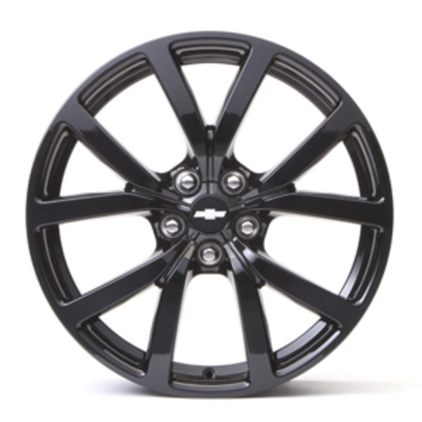 "20"" Wheel, Rear, Black"