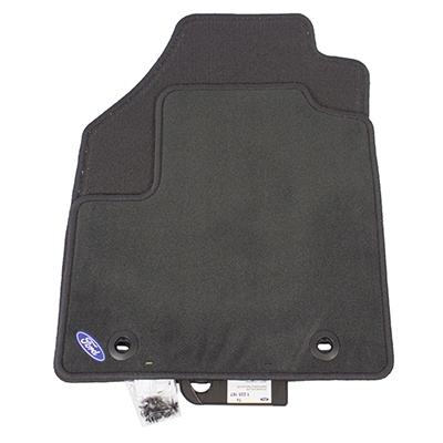 Floor Mats, Carpet, Front Set - Ford (2T1Z-6113086-A)