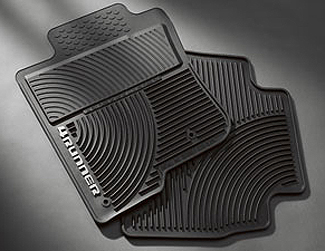4RUNNER All Weather Mats 2PC - Toyota (PT908-89090-20)