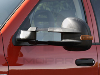 Trailer Towing Mirror, Exterior