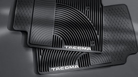 4PC All Weather Mats Black Ctacoma