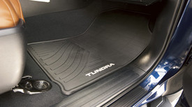 All-Weather Floor Mats - Black - 2pc- Front