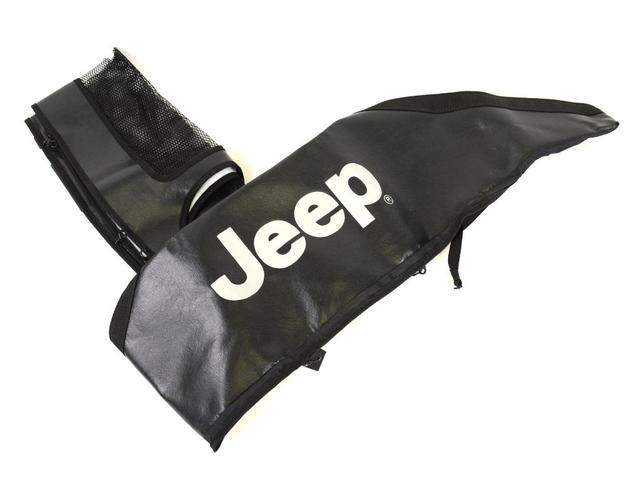 Front End Cover - Black With Jeep Logo - Mopar (82210318AB)