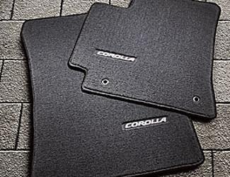 2013 Toyota Corolla Carpet Floor Mats Pt206 02130 50 Oepartsquick
