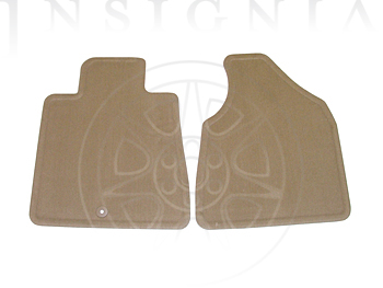 Floor Mats, Carpet, Front - GM (19180512)