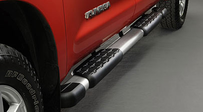 Running Board, Brushed Stainless