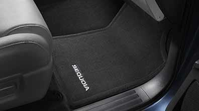 Floor Mats Sequoia 4PC Gray - Toyota (PT926-0C094-11)