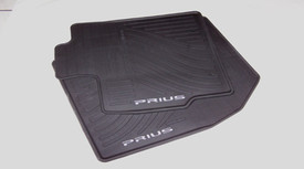 Prius All Weather Mats 4PC Black