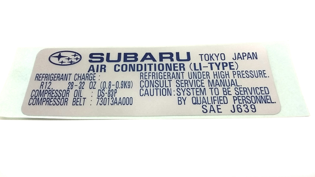 A C Label