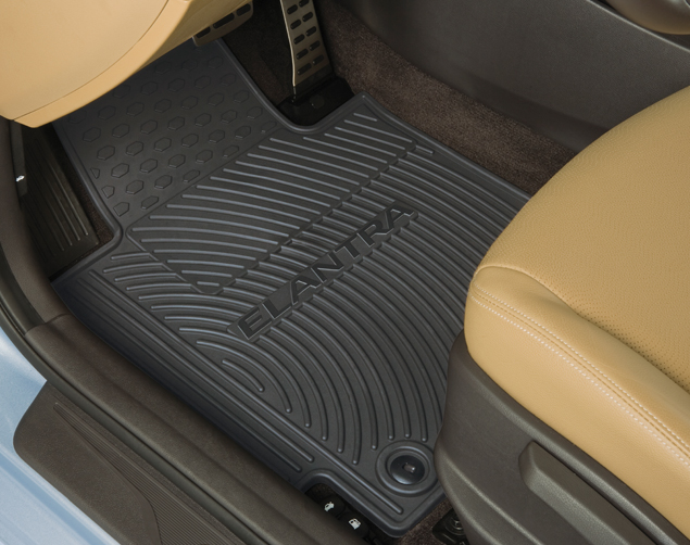 Floor Mats, All Weather - Hyundai (3X013-ADU00)