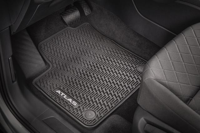 Monster Mats With Atlas Logo (For Captain - Volkswagen (3CN-061-550-A-041)