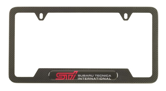 License Plate Frame, Sti