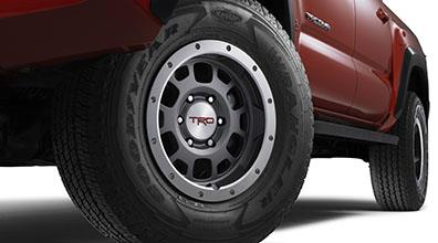 "16"" Wheel, Off-Road Trd, Graphite - Toyota (PTR18-35090-GR)"