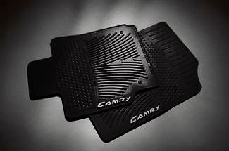 2PC All Weather Mats Black Cam - Toyota (PT908-0310W-02)