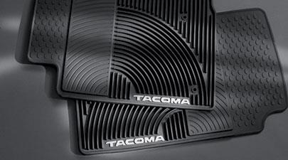 Tacoma All Weather Mats 2PC Black - Toyota (PT908-3510W-02)