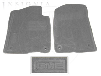 Floor Mats, Carpet, Front - GM (19155778)