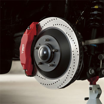 Trd, Brake Kit, Front Left Brake Rotor