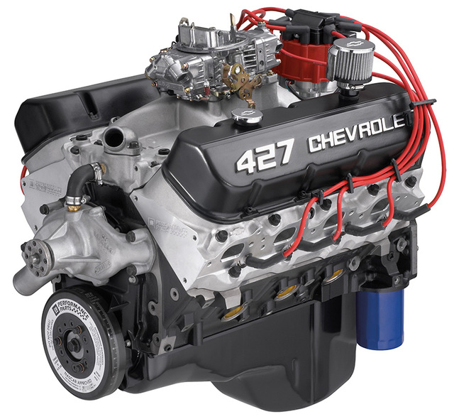 chevrolet performance zz427 480 hp crate engine gm. Black Bedroom Furniture Sets. Home Design Ideas