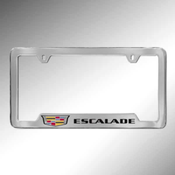 License Plate Frame, Escalade
