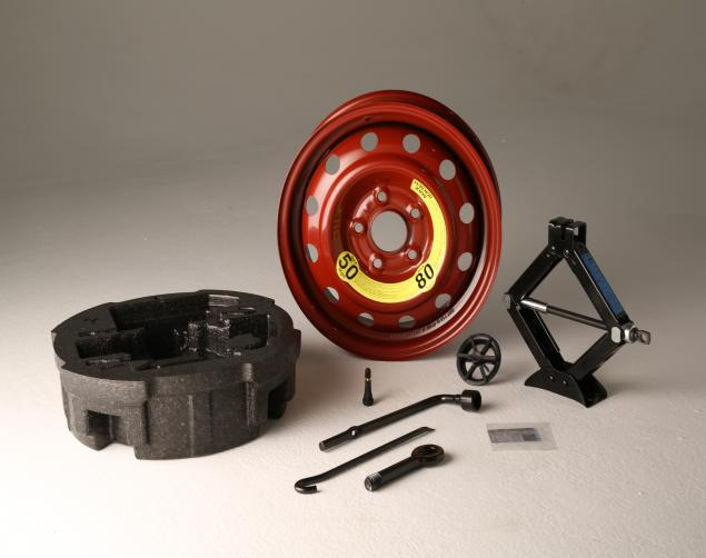 Model 1RF40-AC910 HYUNDAI Spare TIRE KIT