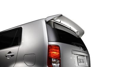 Rear Wind Deflectors - Black Sand Pearl 209 - Toyota (PT921-52081-02)