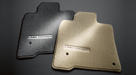 Floor Mats, Carpet, Land Cruiser Logo