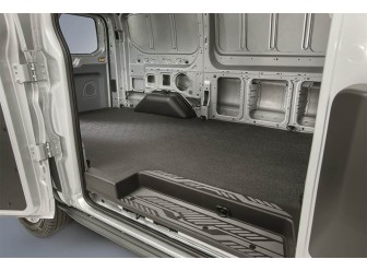 Cargo Area Protector, Rubber, Med Frame