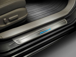 Door Sill Trim - Sedan - Black - Honda (08E12-TA0-130B)