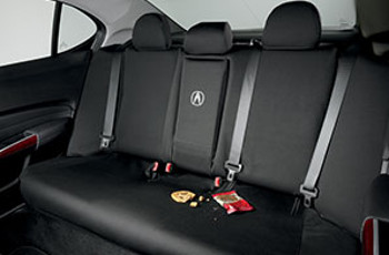 Seat Cover, Rear, Black