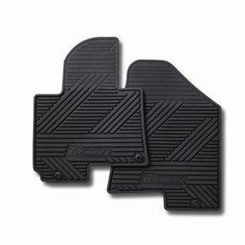 Floor Mats, All Weather ( black ) REAR SET