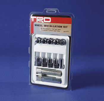 Wheel Locks, Trd, 24 Pc Set