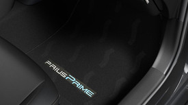 Prius Floor Mats Plugin Black
