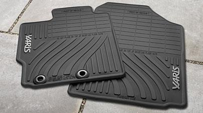 4PC All Weather Mats Yaris - Toyota (PT908-52122-20)