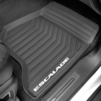 Floor Mats, All-Weather, Front W/Logo - GM (23452752)