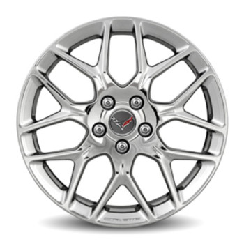 "19"" Wheel, Front, Polished"