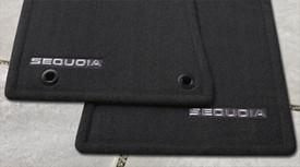 Sequoia Floor Mat 3rd Row 8 Passenger Black