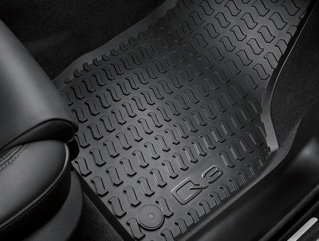 All-Weather Floor Mats - Front - Audi (8U1-061-221-A-041)