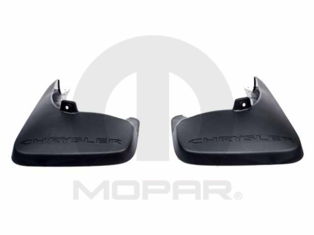 Splash Guards - Molded - Rear
