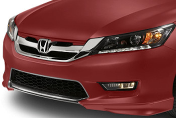 Honda Genuine Accessories 08F01-T2A-170 Basque Red Pearl II Front Underbody Spoiler for Select Accord Models