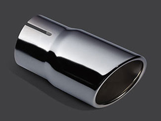 Exhaust Tip - Chrome