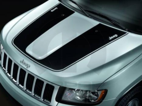 Jeep Grand Cherokee Hood Decal