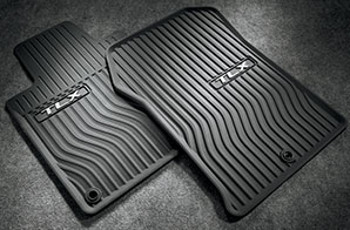 Genuine Acura 2015 - 2017 TLX All Season Mats in Black for FWD Models 08P13-TZ3-210A