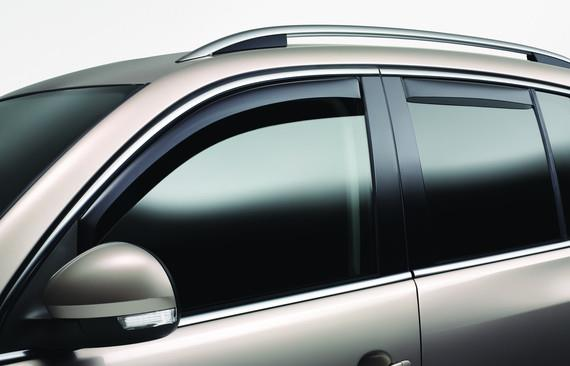 Side Window Deflectors - Rear - Volkswagen (5N0-072-194)