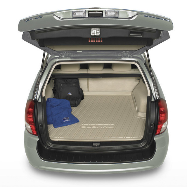 Cargo Tray 4-Door - Off Black - Subaru (J501SAG050JD)