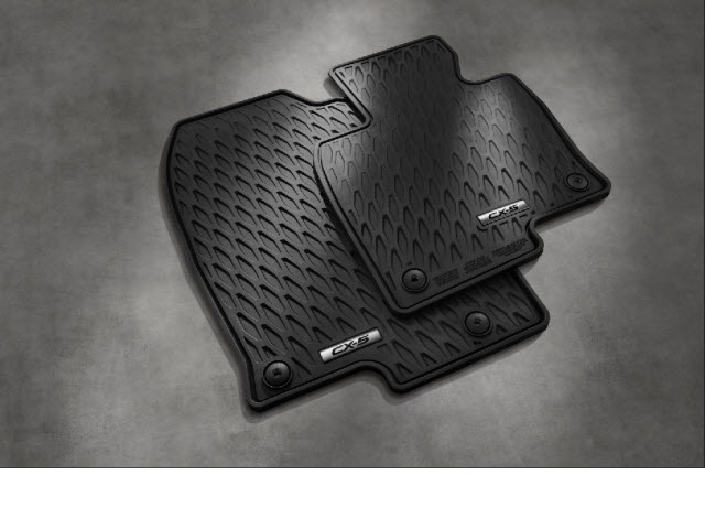 (Front and Rear) Floor Mats, All Weather (2017-2020 CX-5) 'Plenty in Stock' - Mazda (0000-8B-R21)