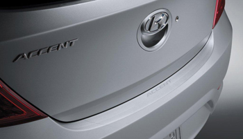 Bumper Applique, Rear-4 Door