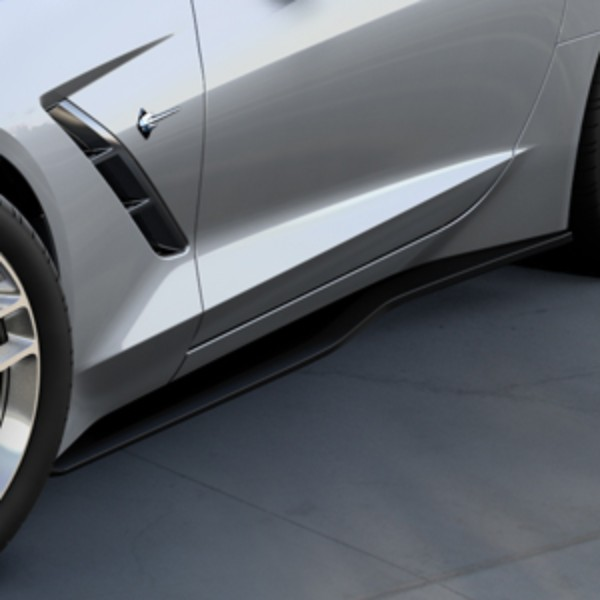 Carbon Flash Metallic Rocker Panel Exterior Trim