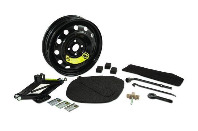 Spare Tire Hardware Kit, Tire Sold Separately