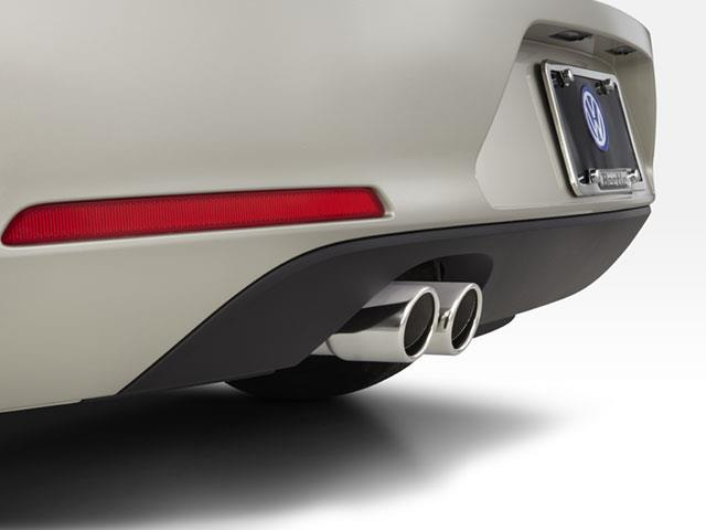 Exhaust Tips - Polished Metal - Volkswagen (5C1-071-910)