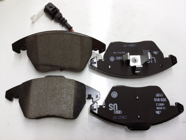 GENUINE VW FRONT BRAKE PADS - Volkswagen (3C0-698-151-D)